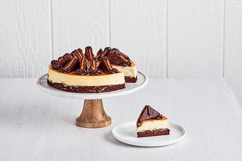 Caramel Brownie Slice